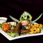 Dish @ The Theme Jaipur - Veg Platter