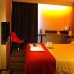 Chambre 1, 2 personnes, plateau d'accueil, Wifi gratuit, et à tester nos oreillers memoire de fo