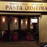 Façade du Restaurant le Pasta Comedia