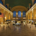 long photo exposure of Grand Central terminal near the hotel
