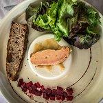 Foie gras de canard mi-cut