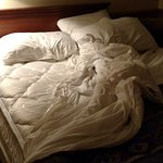 No fitted sheets