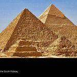 Giza is a plateau southwest of modern Cairo which served as the necropolis for the royalty of th