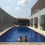 piscina muito boa!
