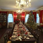 Kaminski House Museum decked out for the holidays. Local designers decorate the rooms of the hou