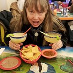 The margaritas were excellent, specially the Cadillac one