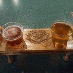Beer flight delicious brews