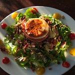 La salade de chèvre
