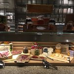 Cheese and Salami Table