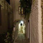 Naxos Kastro area