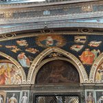 Frescoes abound