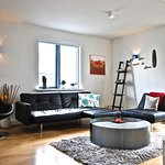 Two Bedrooms Apartment (accommodation max 5 adults) - Living room with sleeping sofa