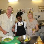 on our cooking evening with the chefs, they are simply the best