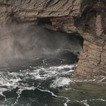 Blow Hole from the coastal path
