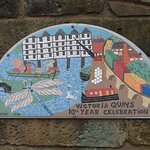 Mosaic in Victoria Quays