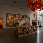 There are 4,350-square-feet of glass sculptures, drawings, editions and prints to wow you.