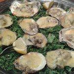 Baked Oysters with Asiago & Garlic Butter - So Delicious!!