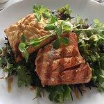 Wild Salmon with Parsnip Strudel