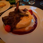 Veal in Port wine reduction
