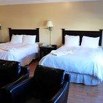 Bedroom of Genfell Heritage Hotel