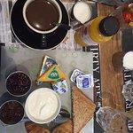 O cafe da manhã - uma das opções