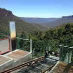 View from the scenic railway