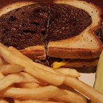 Patty Melt & fries