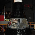 Mercury Capsule that you can get up and close....Take a look at the cramped conditions.