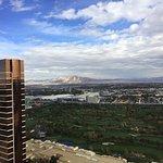 40th floor facing the desert side...lovely sunsets and gorgeous skies.