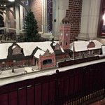 A model of the station greets you in the entryway