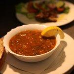 harira soup starter.