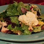 Sweetwater Roast Chicken Salad, really great! Enough for two.
