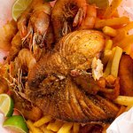 Fish, Shrimp, and Fries - Mouth Watering :)