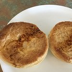 Scallop pies