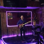 Brentrix with some funky tunes down at Ellys Bar and Grill
