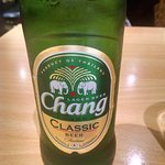 A bottle of Chang