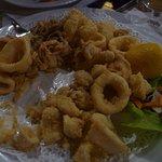 succulent deep-fried squid/octopus