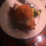 Fantastic local, lightly fried fish sandwich