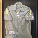 This was the actual shirt the Chimney Rock Wardens used to wear. Interesting....