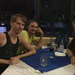 In restaurant
