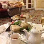 Where are the cakes in the Afternoon Tea?