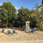 Relaxing beach