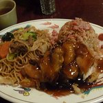 S&S Pork/House Chow Mein Combo...