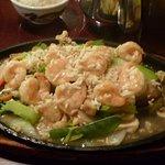 Sizzling Shrimp...