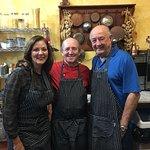 Lorene & Richard with Chef Paolo
