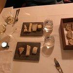 Abends in Hamburg, in der Messe Nähe, ein kleines sehr feines Restaurant... Essen sehr gut, Ambi