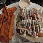 Fabulous fish tacos (tilapia)