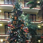 Christmas in the atrium