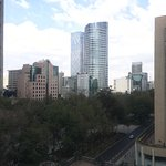 The view from the 8th floor Paseo de la reforma