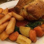 Had a great meal this evening - the Mushroom Wellington was Fab!